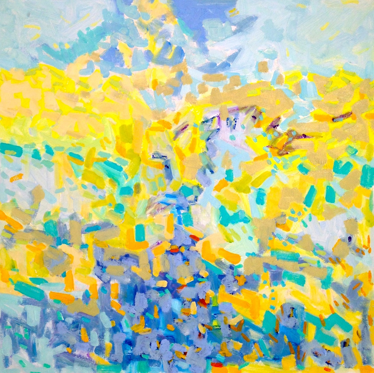 Stream, Sunrise by Karen Blair at Les Yeux du Monde Art Gallery