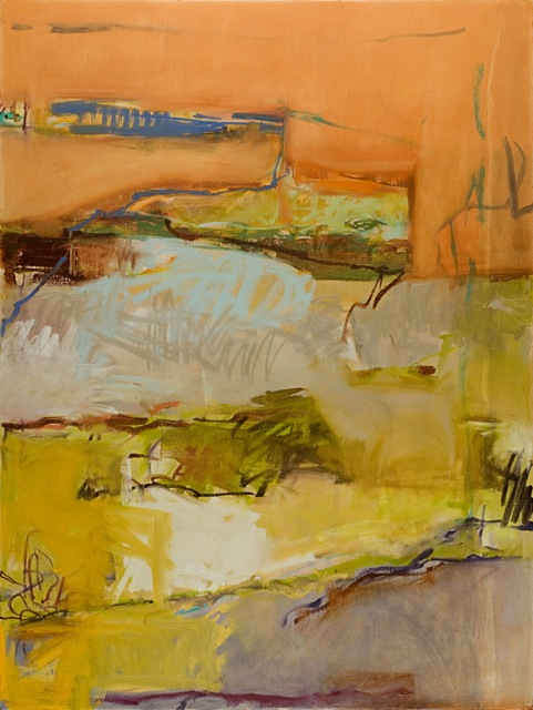 Near Moncla by Janet Bruce at Les Yeux du Monde Art Gallery