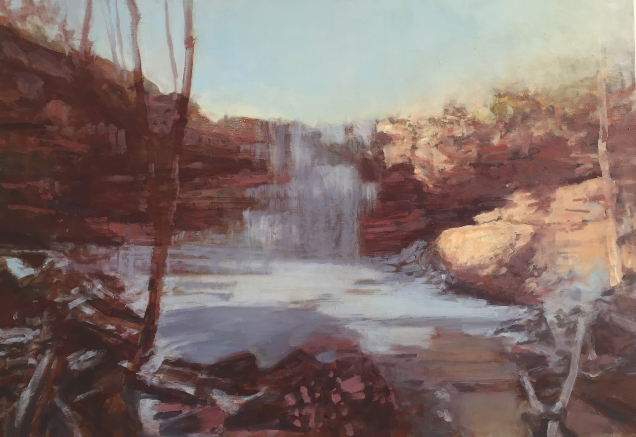Ohiopyle Falls by Dean Dass 						at Les Yeux du Monde Art Gallery