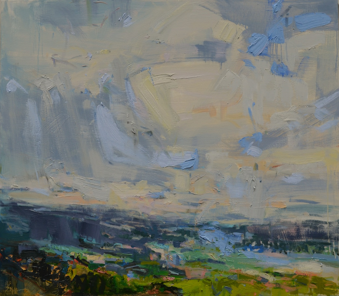 Blue Ridge Valley by Susan Mcalister  						at Les Yeux du Monde Art Gallery