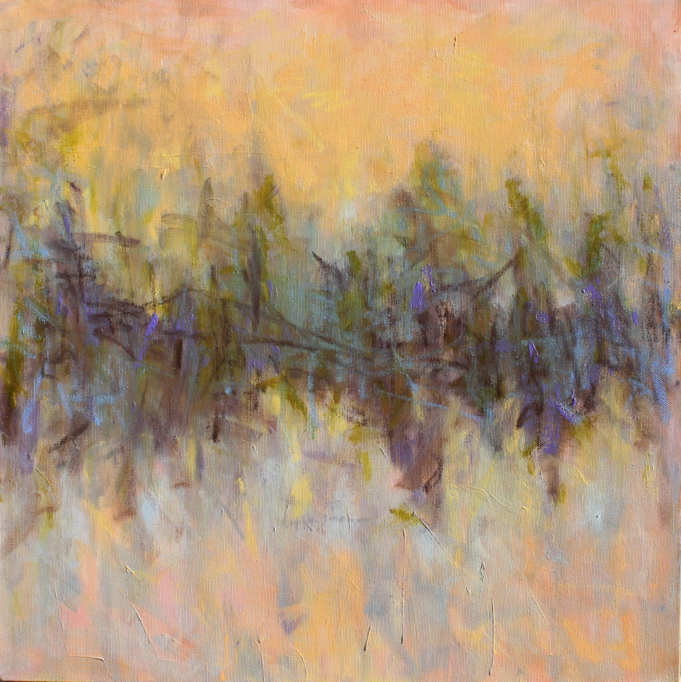 Winter Twilight by Priscilla Whitlock at Les Yeux du Monde Art Gallery