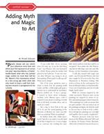 "Daily Progress, ""Adding Myth and Magic to Art,"" by Wendy Edwards, June 24, 2010."