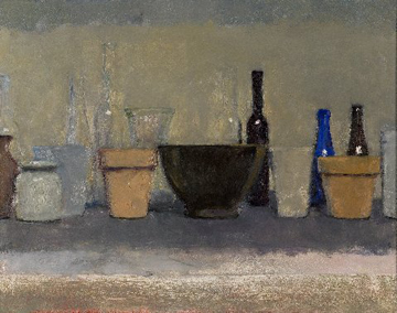 Homage to Morandi by David Summers at Les Yeux du Monde Gallery